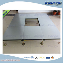 wood core tile anti-static epoxy floor, coating raised access floor, for intelligent building system