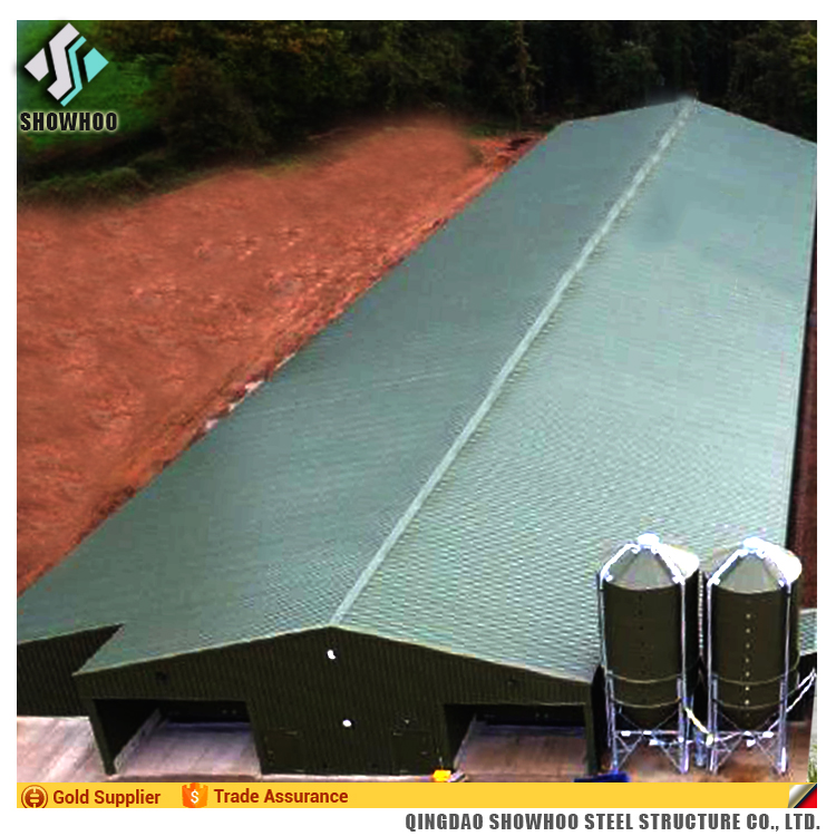 Galvanized Steel Chicken Poultry Breeding House