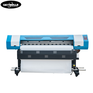 1.6m wide professional direct to fabric eco solvent digital inkjet printer