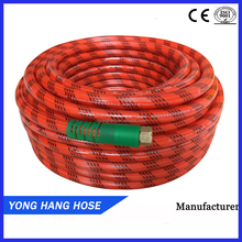 High Quality Fexible Pvc Color thread red Braided Hose Pipe For Asia Market