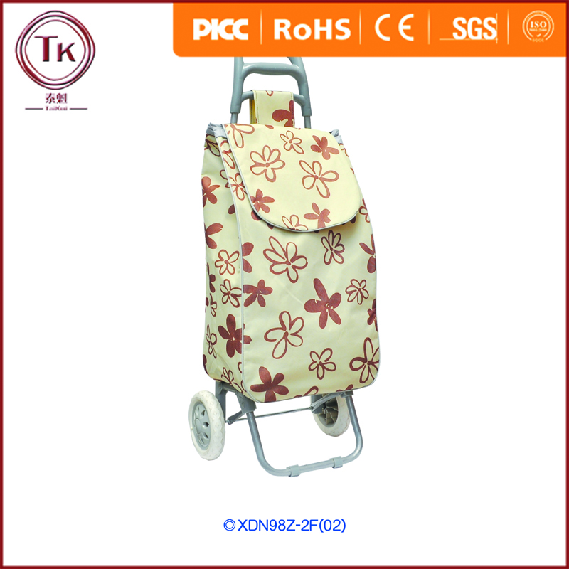 Supermarket Equipment Vegetable Shopping Trolley Bag