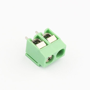 pitch 5.00 mm screw terminal block screw terminal connector 2 pole connector