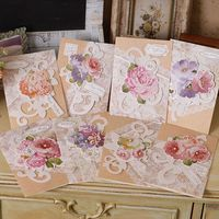 dried flowers greeting cards
