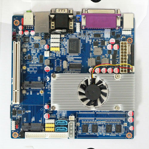 types of computer motherboard intel atom N470 intergrated on board cpu universal motherboard thin client pc 3g sim card