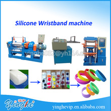 high quality silicone wristbands forming machine