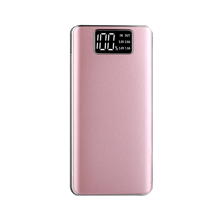 Shenzhen electronics cheap portable power bank 10000mAh with LED restaurant power,power supply,portable battery charger