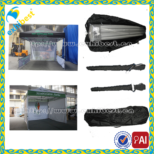 Portable Canopy for Outdoor Camping Pop up Canopy Tent Weighted Feet for advertising