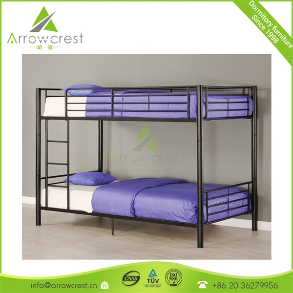Prefabricated temporary workers mining prefab housing metal frame sofa bunk bed