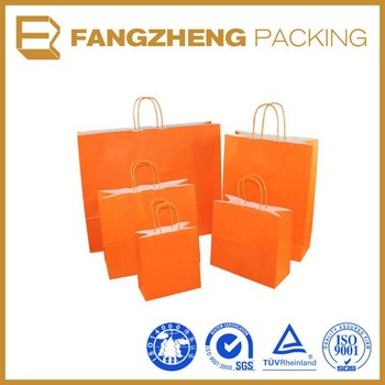 Customized environmental/recyclable kraft paper packing bags