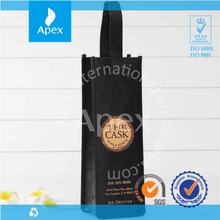 Promotional non woven fabric wine bag shopping bag
