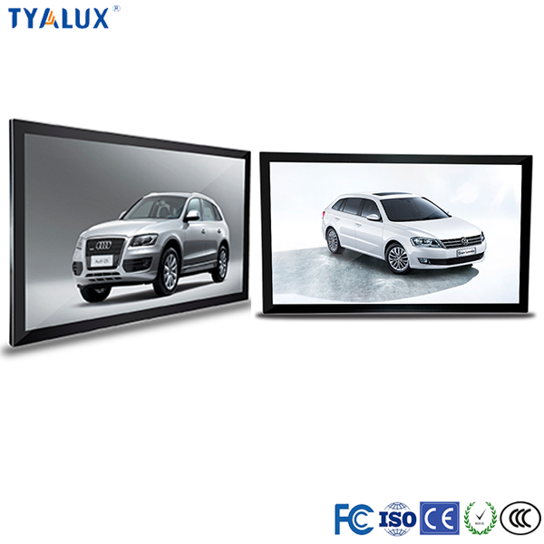 65Inch lcd panel wall mount touching digital signage software for retail used
