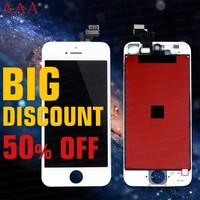 2016 Free ship screen lcd for iphone 5 alibaba express china,for apple iphone 5 original phone lcd