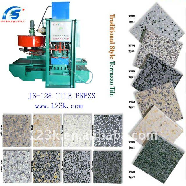 Hot selling concrete tile making machinery