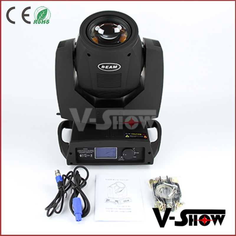 Top stage lighting 8-face prism 5R 200w head moving beam light led for DJ event