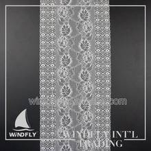 Turkish Style Smulti Colour Wedding Lace Trim Fabrics