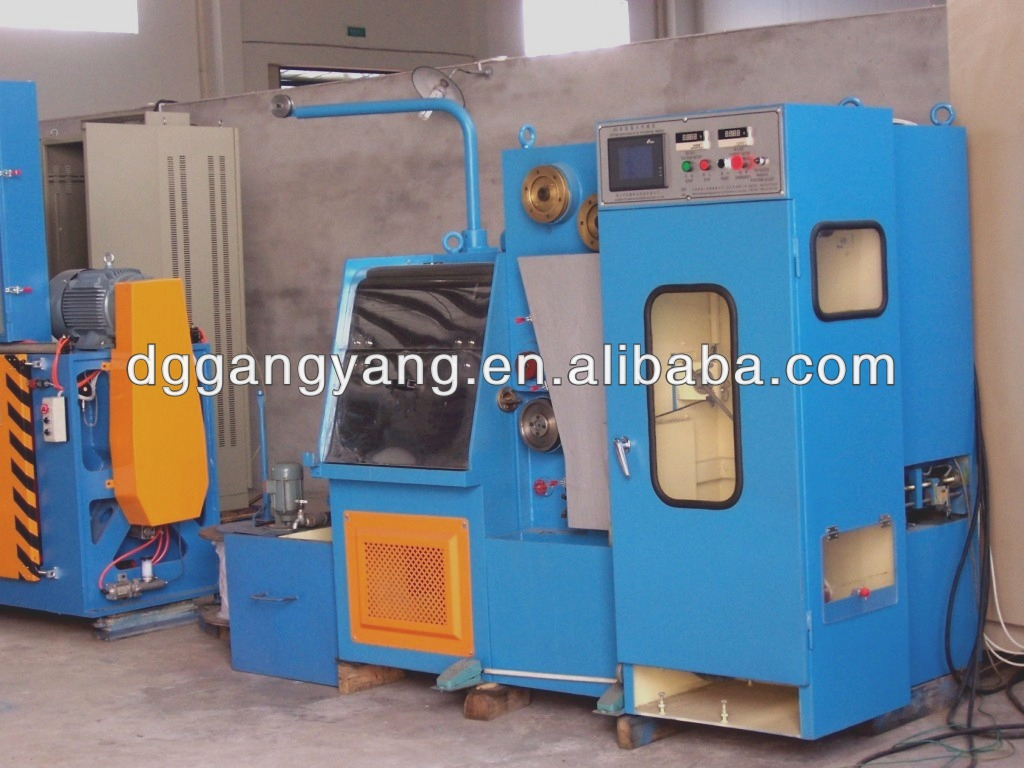 Super Fine Copper Wire Drawing Machine