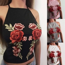 2018 New Women's Fashion Sexy Halter Tops Wild Flowers Female Lingerie