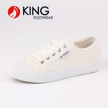 New design rubber canvas shoes and sneaker for men and women