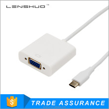 USB 3.1 Type C to VGA cable in Black