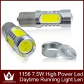 1156 power 7.5w(1.5w*5) with lens led replacment lamp auto led tail light