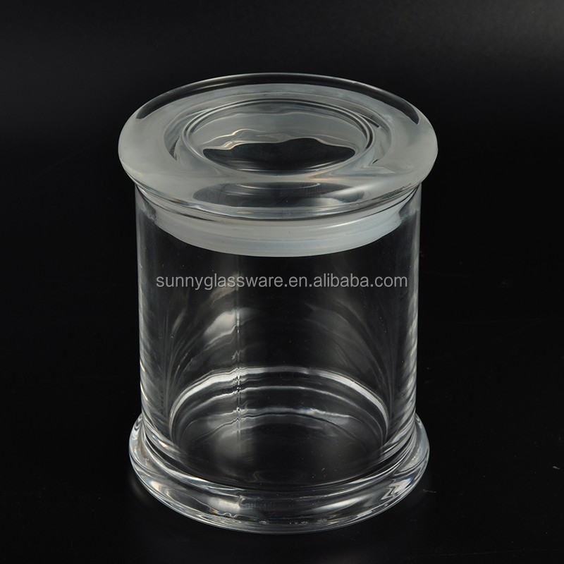 350ml air tight odorless libbey status glass jars with flat lid