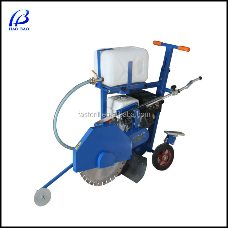 HXR450H walk behind 450mm blade capacity concrete cutter saw machine with CE
