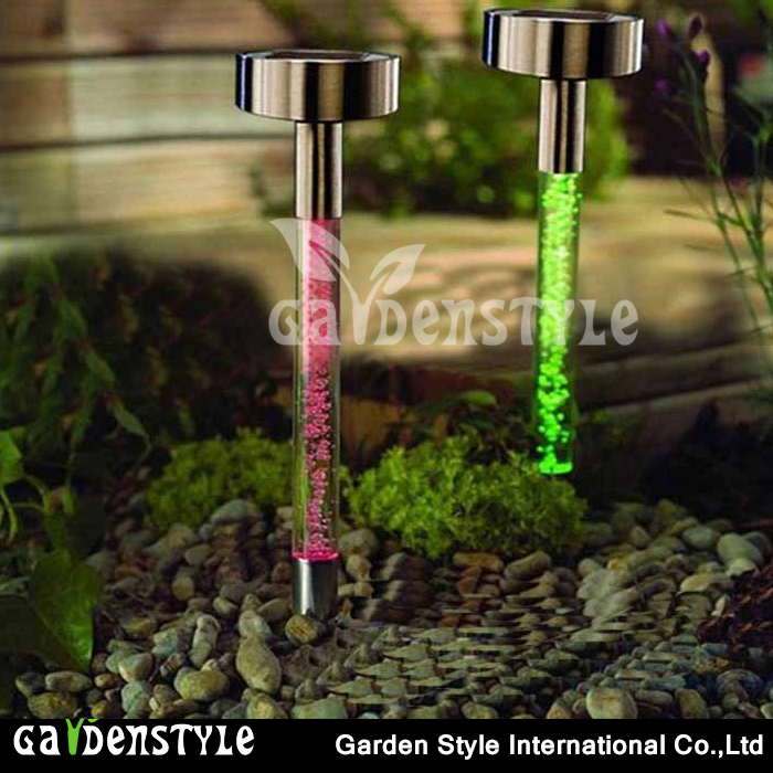 led the lamp Stainless Steel stake light, pathway Landscape Color Changing lamp led, Colorful Light outdoor lamp