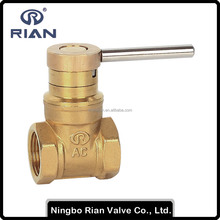 "1/2""-1"" PN16 Brass Magnetic Gate Valve"