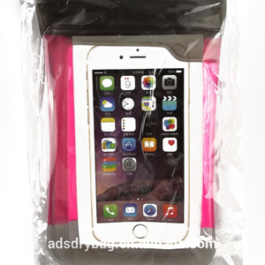 Order Now!Float on water custom logo IPX8 30m pvc waterproof phone pouch/zipper pouch bag up to 5.7''' for Apple Iphone 6/7