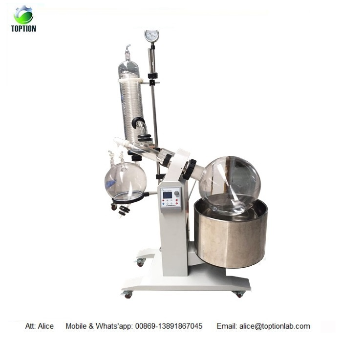 50L TOPTION Industrial Scale Rotary evaporator Manufacturer Rotary Evaporator Systems