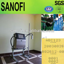 High quality small character continuous ink jet printer