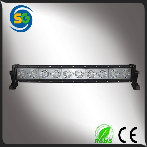 Rotating 100W 20 inch single row led light bar