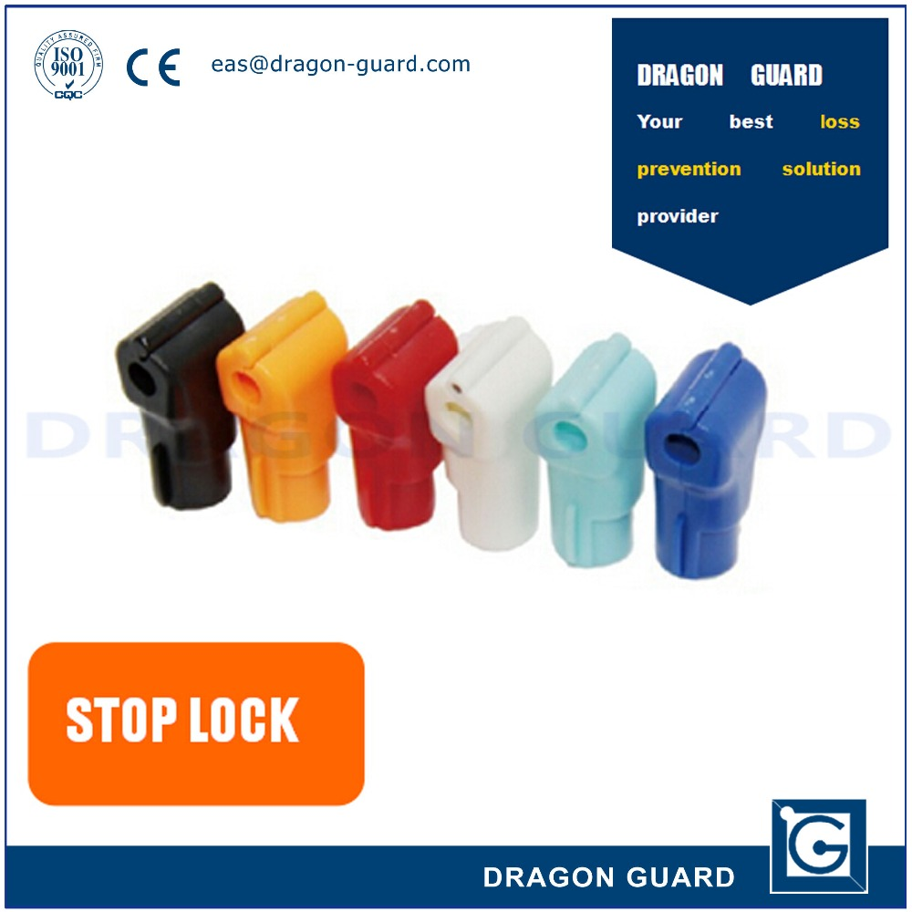 China Manufacturer Supply Supermarket Anti-Theft EAS Tag Hook Stoplock Display Security Emergency Stop Lock