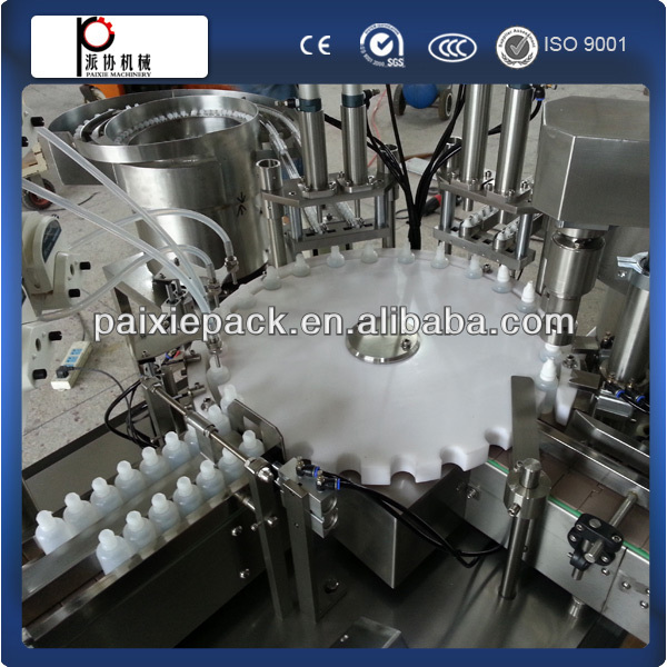 vial filling capping machine