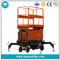 excellent tailgated lifting trolley used for lifting tools