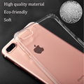 Mobile accessories for iphone 7 case ultra slim tpu phone case for iphone 7 plus for iphone cell phone shell cover transparent