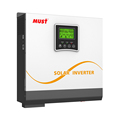 < MUST>Rechargeable off grid portable power inverter 3000W solar inverter 12v 24v dc to 220v ac