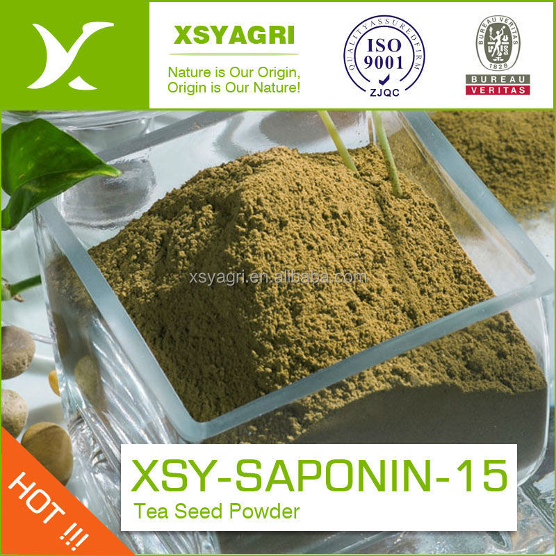 Best quality Organic Fertilizer Tea Seed powder with brown