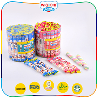 China factory price twisted marshmallow candy sweets on promotion