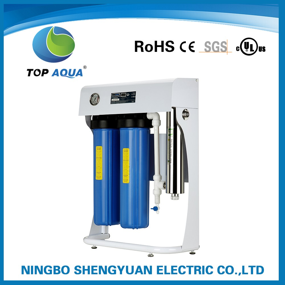 Ultraviolet rainwater sterilizer / swimming pool water ultra violet light disinfection uv sterilizer
