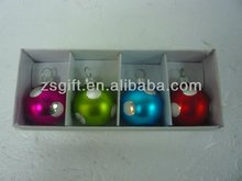 fair factory supplied christmas glass namecard holders