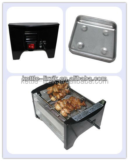 newly-design smoke-free energy-saving Alumium alloy solid barbecue grill