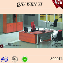 Modern glass office table /desk 8009T
