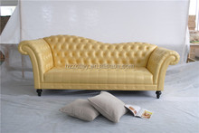American vintage style upholstered club sofa chair/wing back sofa chair/<strong>modern</strong> high back wing chair