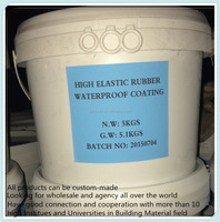High elastic skin type rubber waterproof coating wholesale and retail
