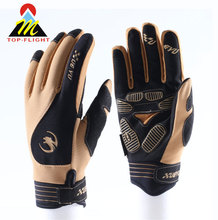wholesales custom motorcycle gloves for men leather motocross motorbike riding sports glove