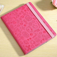 personalized fancy book style pu leather case for ipad 4 3 2
