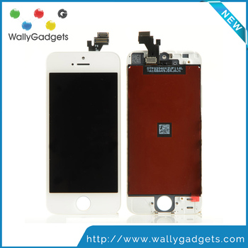 low price strong frame for iphone 5 lcd flex cable