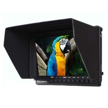 FEELWORLD FW760 7 inch Full HD IPS Screen 160 Degrees Viewing Angle Video Recorder Field Monitor with Sun Shade