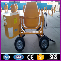 Industrial 3 yard mobile concrete mixer powered by 9 HP diesel engine for sale CM 700